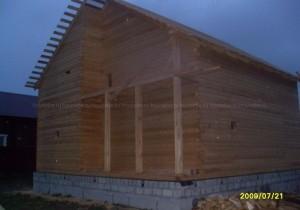 Дом из проф бруса 145х145 мм. Рязань