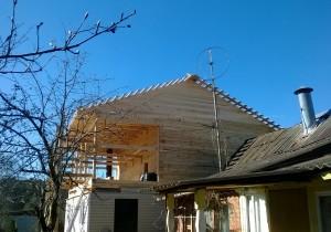 Дом из бруса 150 на 150. Рублёво-Успенское шоссе