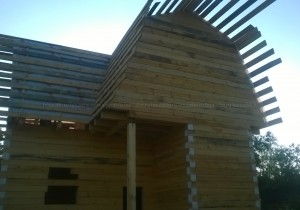Дом из бруса 150х150 мм. Шоховское