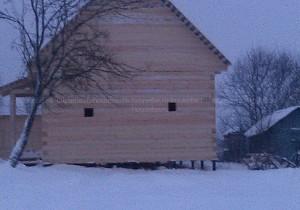 Дом из бруса в Сергиев Посаде. Брус 150 на 150 мм.