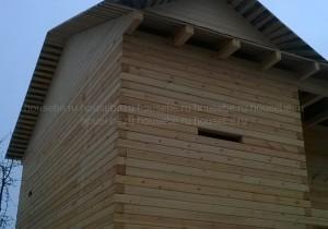 Дом из профилированного бруса 145х145 мм. в Львовском. МО