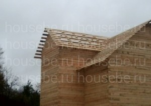Дом из обычного бруса 150х150 мм. Волоколамск