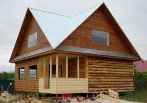 Рубленный дома
