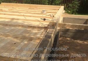Дом из профилированного бруса. Стромынь. Московская область