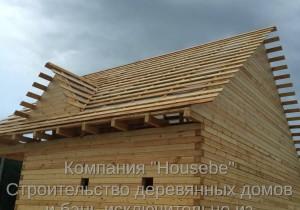 Дом из профилированного бруса. г. Тутаев. Ярославская область